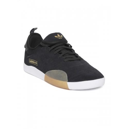 timeless design 78a61 2c55a ... Adidas Originals Men Black 3ST.003 Sneakers ...