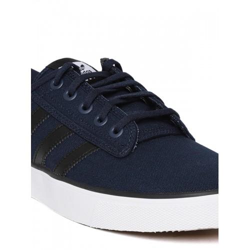 Buy Adidas Originals Men Navy Blue Kiel Sneakers online | Looksgud.in