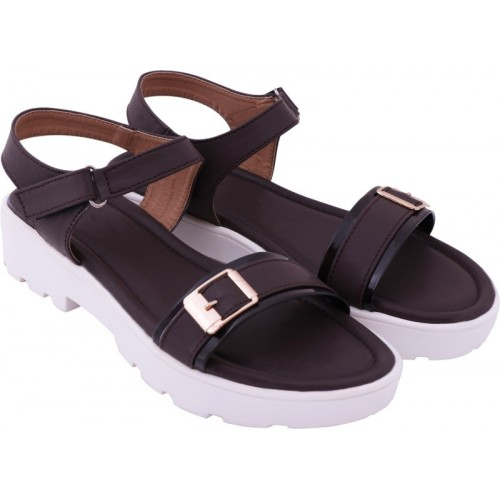 Lily Women Brown Flats