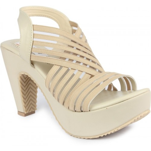 Digni Women Cream Heels