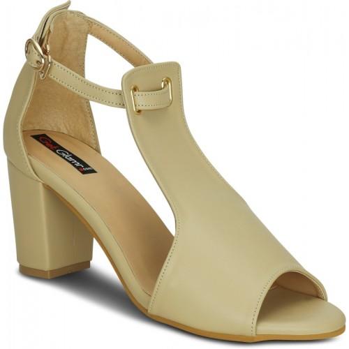 Get Glamr Women Beige Heels