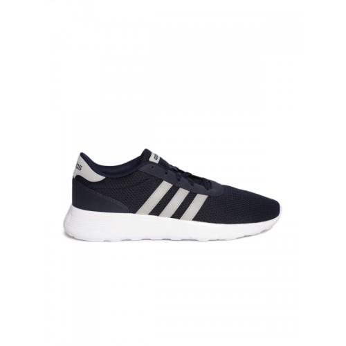 Adidas Men Navy Lite Racer Running Shoes