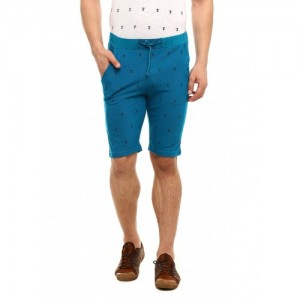 Gritstones Men's Blue Shorts