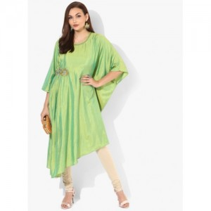 Shree Green Embellished Kurta