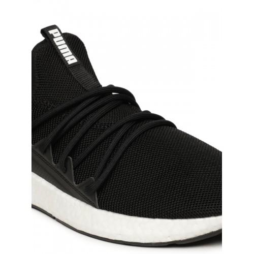 Puma Men Black NRGY Neko Running Shoes