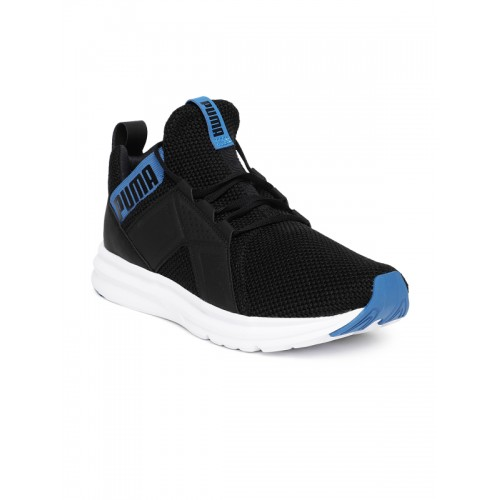 4c9d8e060299 Buy Puma Men Black   Blue Enzo Weave Training Shoes online