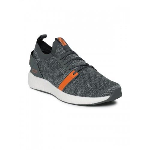 Buy Puma Men Grey NRGY Neko Engineer Knitted Running Shoes online ... c5faa2521