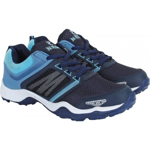 Aero Blue Performance Running Shoes For Men