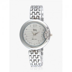 Watch Me Silver Stainless Steel Analog Watch