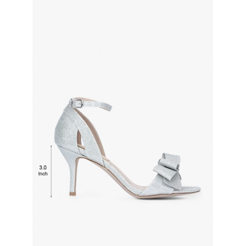 Carlton London Silver Sandals