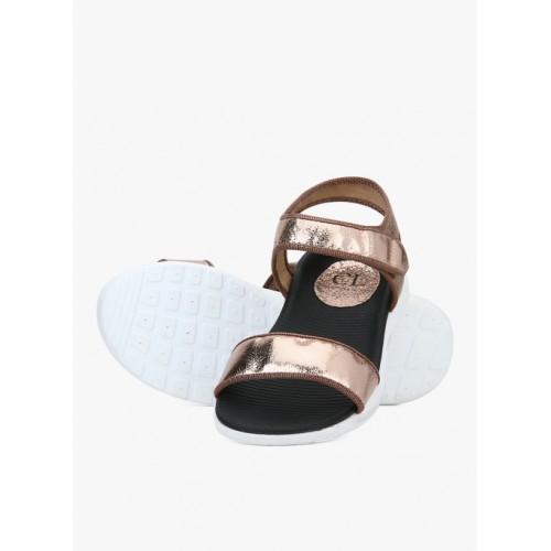 Carlton London Golden Sandals