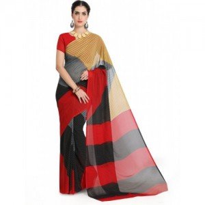 e4aa6c5984 Buy Aarti Apparels Embroidered Bollywood Dupion Silk Saree online ...