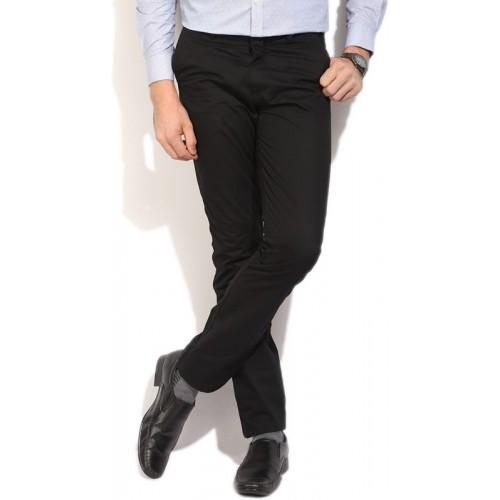U.S. Polo Assn Regular Fit Men's Black Trousers