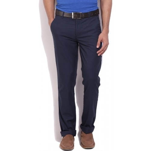 United Colors of Benetton. Regular Fit Men's Dark Blue Trousers