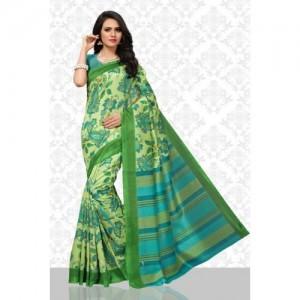 d03a1e3a458a58 Buy Roopkala Silks Embroidered Bollywood Silk Cotton Blend Saree ...