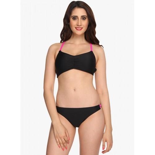 Nidhi Munim Striped Women's Swimsuit