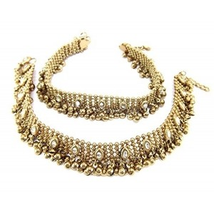 9blings Aria gold plated Anklet For Women Gold - Oa1
