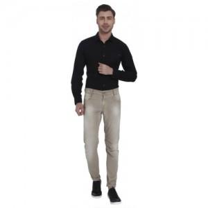 Mufti Slim Men Beige Jeans