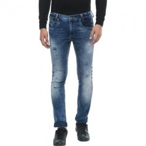 Mufti Slim Men Blue Jeans