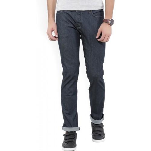Wrangler Regular Men Dark Blue Jeans
