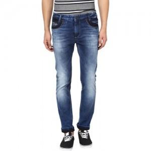 Mufti Men's Dark Blue Jeans