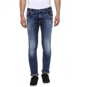 Mufti Regular Men Blue Jeans