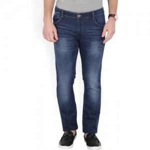 John Players Skinny Men Blue Jeans