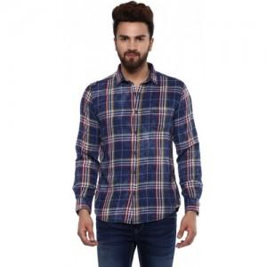 ccdd63e714e Buy Mufti Men Printed Casual Button Down Shirt online