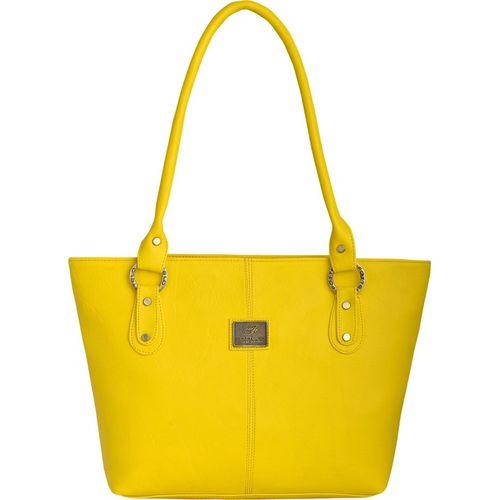 Fostelo Yellow Leather Shoulder Bag