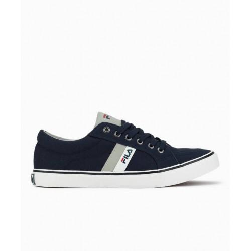 Buy Fila Blue Canvas Shoes For Men