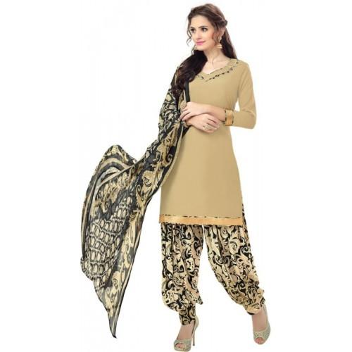 Saara Crepe Printed Salwar Suit Dupatta Material(Un-stitched)