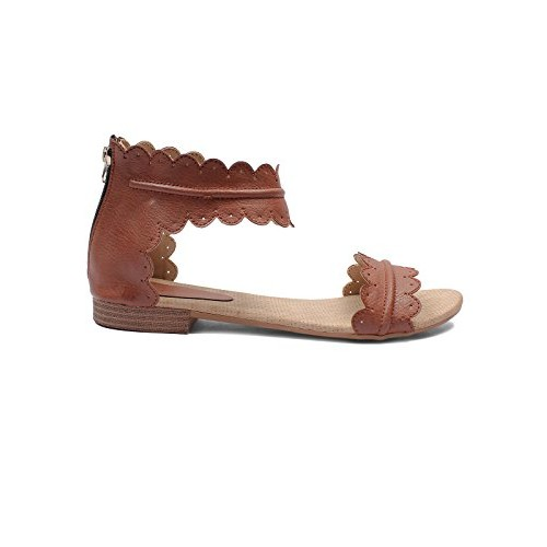 Meriggiare Women Synthetic Brown Flats