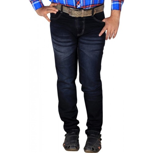 Lzard Regular Men's Black Jeans