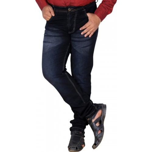 L,Zard Regular Men's Black Jeans