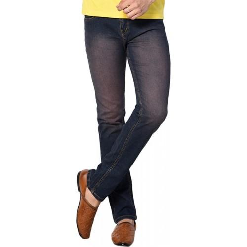 Druthers Slim Men Dark Blue Jeans