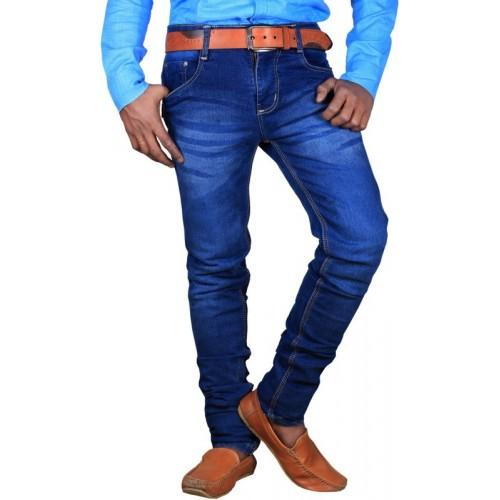 Lzard Slim Men's Blue Jeans
