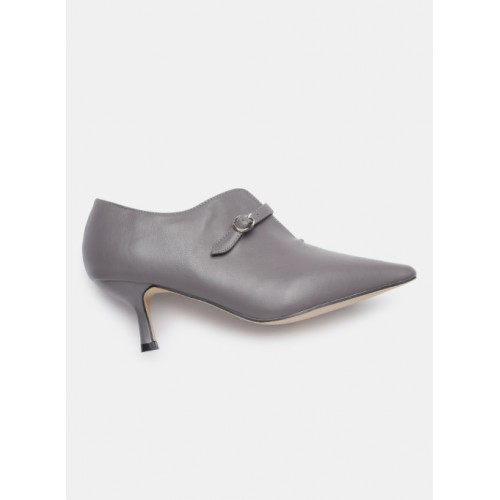 Mast & Harbour Grey Synthetic Solid Pumps