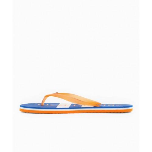 United Colors of Benetton Blue Flat Flip Flops