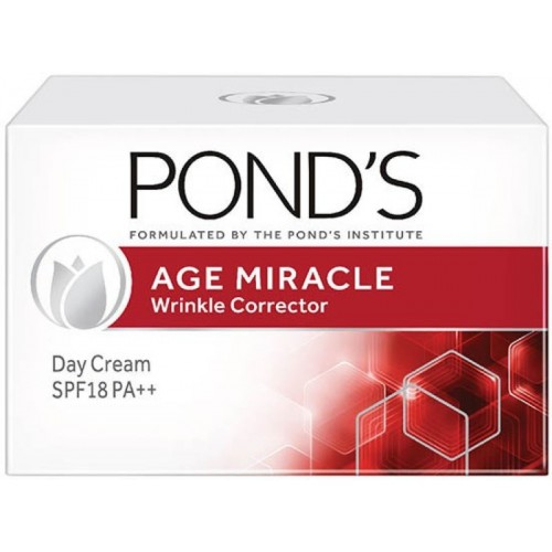 Ponds Age Miracle Wrinkle Corrector Day Cream SPF 18 PA++(10 g)