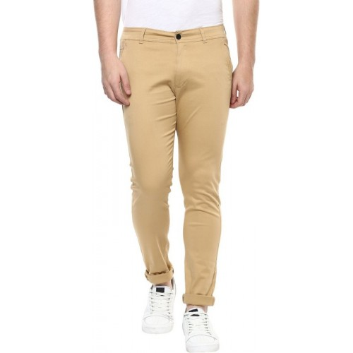 Rock Hudson Regular Fit Men's Beige Trousers