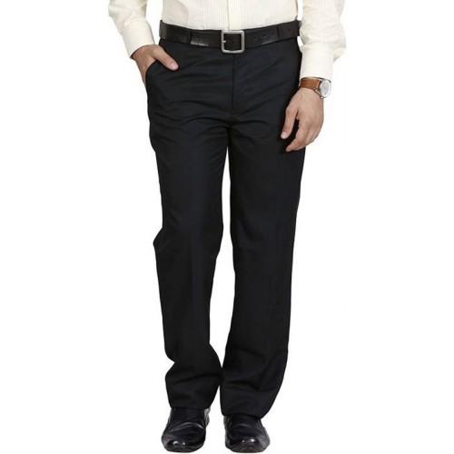 Rocksy Regular Fit Men's Black Trousers