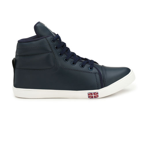 Knight Ace Men's Synthetic Blue Sneakers