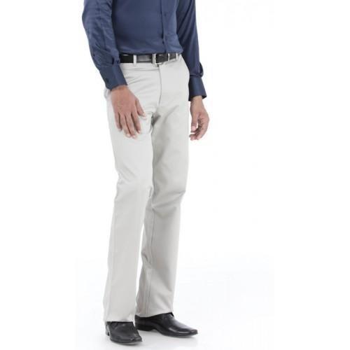 Basics Regular Fit Men's Grey Trousers