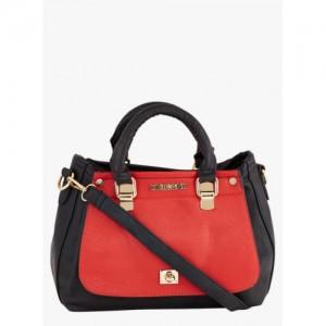 Zoricane Red & Black (Pu) Solid Handbag