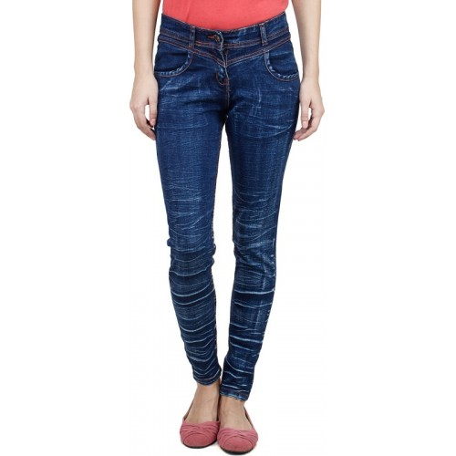 Uber Urban Slim Women's Dark Blue Jeans
