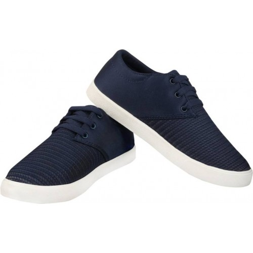 Birde Comfortable Navy Sneakers For Men
