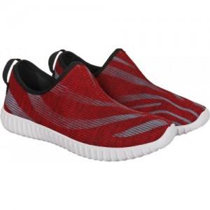 Aero Red Walking Shoes For Men