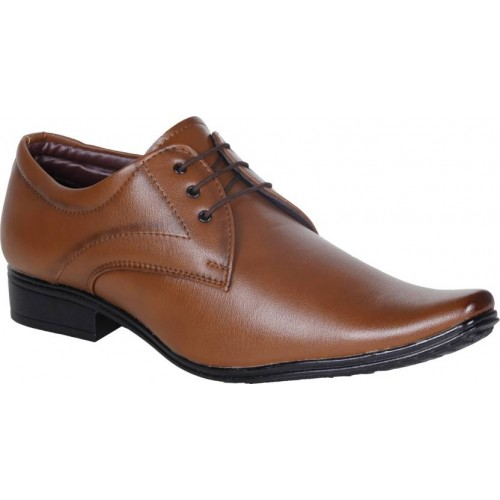 Emosis Brown Lace Up For Men