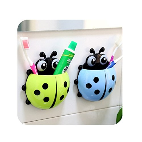 Vepson Cartoon Multicolor Toothbrush Holder With Suction Cup