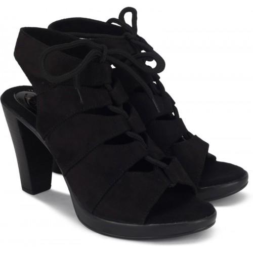 Catwalk BLACK Synthetic Stiletto Heels